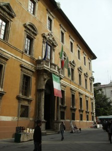 Palazzo Donini, sede della Giunta regionale