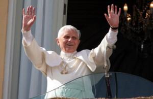 Il Papa a Castel Gandolfo (5 maggio 2005)