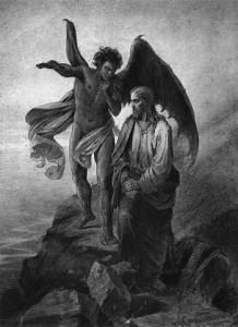 Vasili Surikov, La tentazione di Cristo, 1872