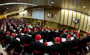 La prima congregazione del Collegio cardinalizio