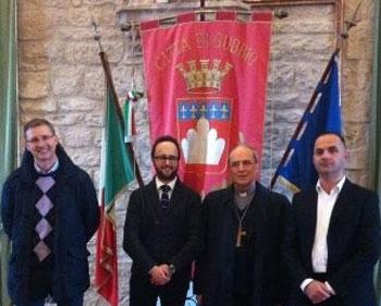 Luca-Uccellani,-Diego-Guerrini,-Mons.-Ceccobelli,-Fabrizio-Palazzari