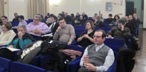 Gli intervenuti alla lezione introduttiva della Scuola diocesana di formazione socio-politica