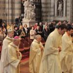 La messa finale in duomo, con i vescovi Boccardo e Tuzia, e i seminaristi del Regionale