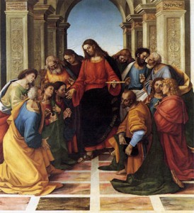 La Comunione degli Apostoli, Luca Signorelli, Museo Diocesano di Cortona