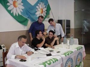 """Il congresso degli iscritti alla """"Margherita"""" nel 2003"""