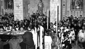I funerali di mons. Beniamino Ubaldi