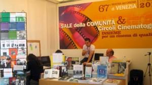 Lo stand dell'Acec alla 67a mostra del Cinema di Venezia nel 2010