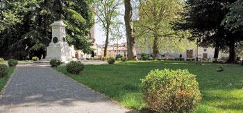 I giardini del Cassero a Città di Castello