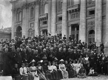 Liviero a San Pietro nel 1912