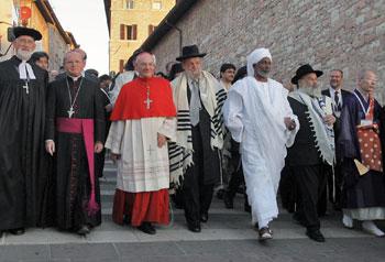 """""""Per un mondo di pace"""" religioni e culture in dialogo ad Assisi nel settembre 2006"""