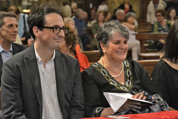 Diego Trancanelli e sua madre Lia
