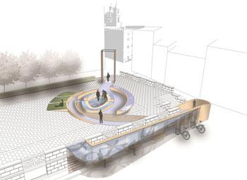 Il progetto della piazza