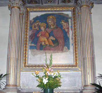Madonna della Bruna, attrib. a Tiberio d'Assisi, 1506(?), La Bruna