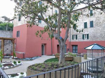 Il giardino sensoriale a Fontenuovo