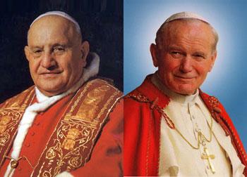 Giovanni-XXIII-e-Giovanni-Paolo-II