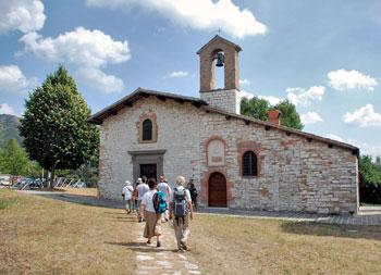 La chiesa della Vittorina a Gubbio