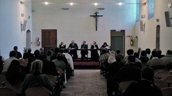 """I partecipanti al convegno """"Le radici francescane a Gubbio"""""""