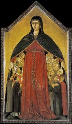 Simone Martini, Madonna della Misericordia