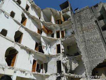 Aleppo, città martoriata dai bombardamenti. Reportage dalla Siria di Asmae Dachan