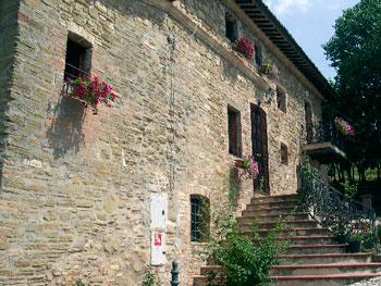La sede del Centro attività sulle tossicodipendenze di Assisi