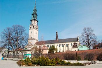 Il santuario mariano di Chestokowa in Polonia