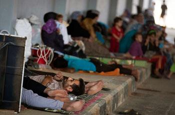 siria-aleppo-sfollati
