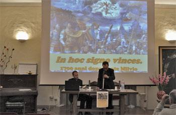 Don Matteo Monfrinotti e don Andrea Czortek durante l'incontro