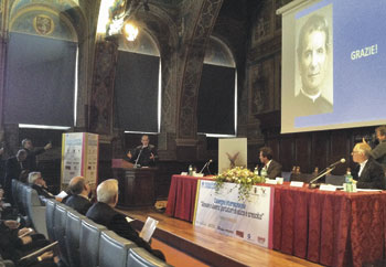 Il convegno internazionale sui giovani e il lavoro tenutosi alla Sala dei Notari