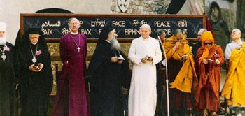 L'incontro delle religioni per la pace voluto da Giovanni Paolo II il 27 ottbre 1986