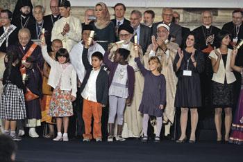 Chiusura dell'incontro internazionale per la pace promosso dalla Comunità di Sant'Egidio