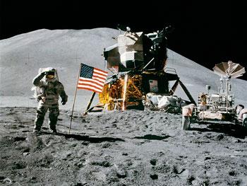 Lo sbarco sulla Luna dell'Apollo 11 nel 1969
