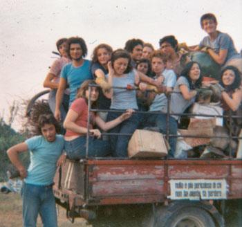 Il gruppo dei ragazzi del 1973