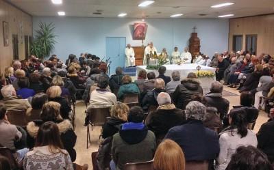 celebrazione-messa-arrivo-reliquia-beato-giovanni-paolo-II