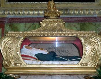 L'urna della Beata Angela da Foligno