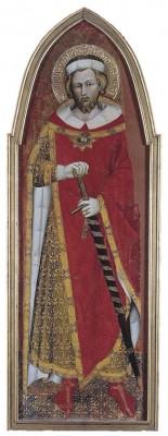 San Ponziano da Spoleto, tavola di Spinello Aretino, museo dell'Ermitage di San Pietroburgo