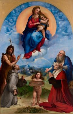 La Madonna di Raffaello che verrà esposta a Foligno