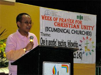 Una celebrazione durante la Settimana di Preghiera per l'Unità dei Cristiani nelle Filippine