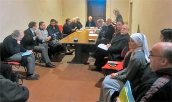 Incontro del Vescovo Tuzia con i responsabili degli Uffici di Curia