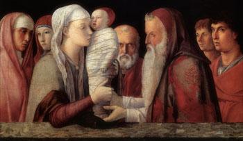 Giovanni Bellini, Presentazione al Tempio, 1460