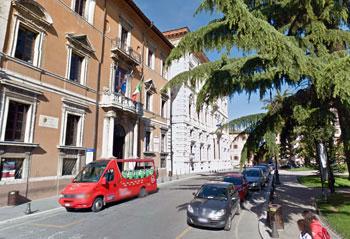 Palazzi della Regione in Piazza Italia a Perugia