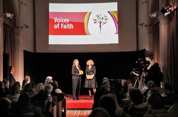 """Voices of Faith"" Giovanna Abbiati e Chantal Goetz"