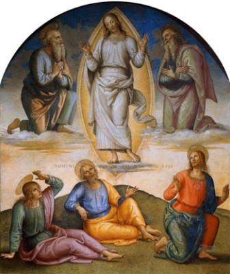Trasfigurazione, Pietro Perugino - Collegio del Cambio, Perugia, 1496-1500