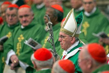 Vaticano,-23-febbraio--Papa-Francesco-presiede-la-concelebrazione-eucaristica-con-i-cardinali-creati-nel-Concistoro