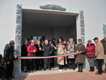 L'inaugurazione della struttura