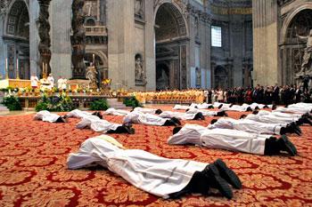 Ordinazione di nuovi sacerdoti della Diocesi di Roma nella Basilica di San Pietro