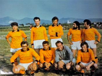 Da sinistra Fioroni, Quaresima, Romizi, Stoppa, Gattobigio, Panzanelli, Raugia, Bartoccini, Branda