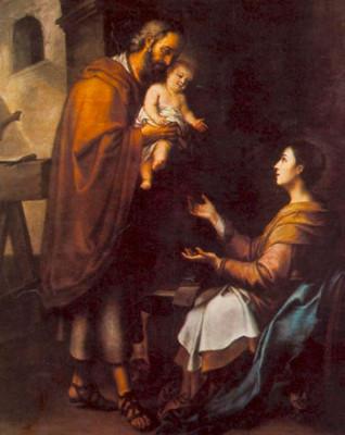 Sacra Famiglia, Bartolome Esteban Murillo, 1660