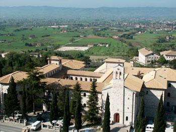 Vedura panoramica dell'Istituto Serafico di Assisi