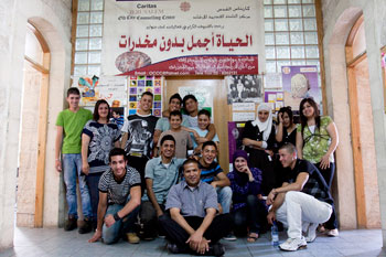 Centro di ascolto Caritas a Gerusalemme (Città Vecchia), foto di Katie Orlinsky-Caritas 2010