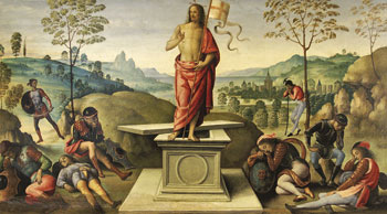 Resurrezione, Pietro Perugino, 1496-1500
